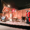 Record-Eagle/Keith King<br /> The 40th annual live Nativity takes place Monday at Bayview Wesleyan Church in Traverse City.