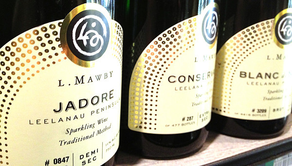 Record-Eagle/Nathan Payne<br /> Some of the best sparkling wine produced in the region comes from L. Mawby, according to wine experts. And several varieties from the vineyard will sell well to budget-minded buyers for New Year's Eve parties.