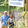 Record-Eagle/Jan-Michael Stump<br /> Ryan Ness and Molly Tompkins are researching and writing a book chronicling the history of Traverse City ski area Hickory Hills.