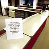 Record-Eagle/Keith King<br /> A sign is visible on a Grand Traverse County desk Thursday, December 30, 2010 inside the Governmental Center on Boardman Avenue.