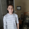 Record-Eagle/Keith King<br /> Jonathan Patterson, of Traverse City, stands Friday, December 28, 2012 in his room.
