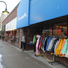 Record-Eagle/Jan-Michael Stump<br /> Cherry Stop, will be switching places in downtown Traverse City with it's neighbor, apparel store Momentum and changin its name to Old Mission Traders to expand it's offerings to other Michigan-made products. The two stores, plus a third neighboring storefront, used to be a Kresge dime store.
