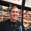Obie Kidd, assistant manager, at the Finish Line (Grand Traverse<br />  Mall) vows to make good on his new gym membership. His inspiration comes<br /> from his customers' determination to get fit, not to mention all the shoes<br /> he sees every day.