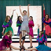 "Record-Eagle/Jan-Michael Stump<br /> The Old Town Playhouse Young Company rehearses for ""Seussical Jr."" on Tuesday evening."