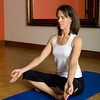 Record-Eagle/Keith King<br /> Aimee Meeker demonstrates a pose at Yen Yoga & Fitness in Traverse City.