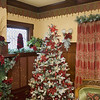 Record-Eagle/Keith King<br /> Christmas decorations are displayed at the Antiquities' Wellington Inn.