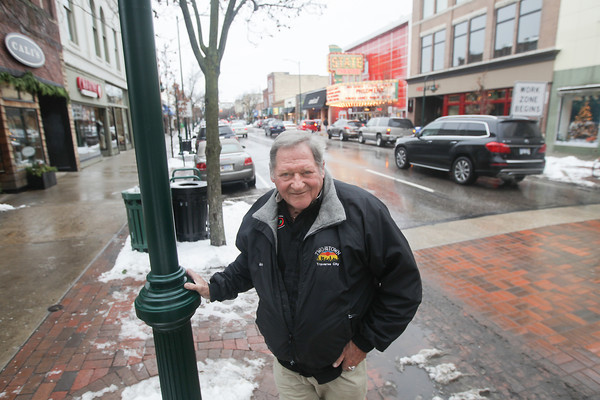 Record-Eagle/Keith King<br /> John Rodge, of Traverse City, stands Wednesday in Traverse City. Rodge is the creater of Two On The Town.