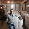 Record-Eagle/Keith King<br /> Frank Lipinski, owner, stands Wednesday at Tralane Seed Farm in Buckley.