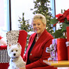 Record-Eagle/Jan-Michael Stump<br /> Kay's owner Kay Jerome, here with her dog Mia,  is retiring, but her namesake store on East Front Street will reopen in February with new owners.