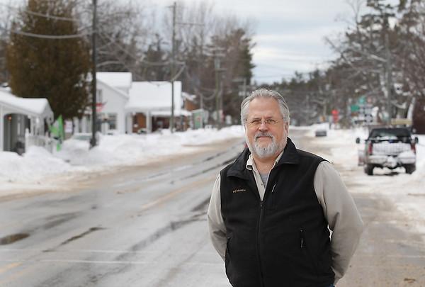 "Record-Eagle/Keith King<br /> John ""Chip"" Hoagland, of Glen Arbor Township, stands Friday, February 8, 2013 in Glen Arbor."