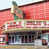 Record-Eagle/Jan-Michael Stump<br /> The State Theatre marquee is ready for this weekend's Traverse City Comedy Festival