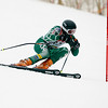 Record-Eagle/Jan-Michael Stump<br /> Traverse City West's Ryan Ness takes his first giant slalom run in the division one ski regionals at Schuss Mountain in Bellaire.