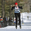 Record-Eagle/Keith King <br /> Cedar's Marnie Sutter captures the women's 27K classic race.