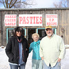 Record-Eagle/Jan-Michael Stump<br /> From left, Laurie Walker (cq), her mother Ellen Exworthy (cq) and Bill Walker (cq) are bringing the Upper Peninsula's Lehto's Pasties to Traverse City in the former home of Latte Dah on West Front Street.