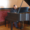 "Record-Eagle/Marta Hepler Drahos<br /> Pianist Jeff Haas plays a piano that belonged to his late father, classical pianist Karl Haas, after it was delivered to him Wednesday morning. Karl Haas played the piano on his WJR Radio show, ""Adventures in Good Music,"" which went on to be syndicated worldwide to more than 650 stations and 3.6 million listeners daily during the late 1980s through 2003."