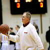 Record-Eagle/Jan-Michael Stump<br /> Peter Garthe was honored before Thursday&apos;s game for his 30 years of service to the Traverse City Central girls basketball program  and 40th year overall with TC athletics. Garthe will attend his 4,000th game in Michigan on Saturday when Traverse City Central hosts Midland.