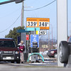 Record-Eagle/Keith King<br /> Gas prices are displayed at a station along U.S. 31 in Traverse City on Tuesday.