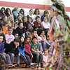 Record-Eagle/Keith King<br /> Willow Hill Elementary School students watch as a dance is performed Wednesday, February 23, 2011 during a Native American Cultural Awareness presentation at the school. The event was presented through a collaboration between the Traverse City Area Public Schools and the Grand Traverse Band of Ottawa and Chippewa Indians.