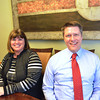 Record-Eagle/Allison Batdorff<br /> Financial planners Vicki Beam, left, and Matthew Breimayer, right, started their own business, Michigan College Planning, in response to rising tuition costs, student loan debt and confusion with financial aid procedures.
