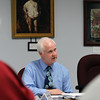Record-Eagle/Jan-Michael Stump<br /> Northern Lakes Community Mental Health Chief Executive Officer Gregory Paffhouse reads a statement during Thursday's meeting in Traverse City.