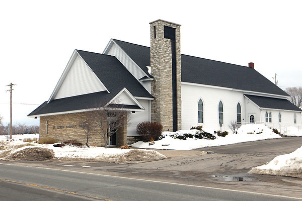 Record-Eagle/Jan-Michael Stump<br /> St. Joseph Catholic Church on Center Road in Peninsula Township.
