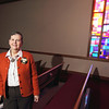 "Record-Eagle/Keith King<br /> Becky Chamberlain, a pastor at The Presbyterian Church: ""Lent is about loving each other."""