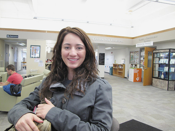 Record-Eagle/Lindsay VanHulle<br /> Candace Giovannangeli, 22, is on the wait list for Northwestern Michigan College's nursing program.