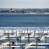 Record-Eagle/Jan-Michael Stump<br /> West Grand Traverse Bay remains mostly ice-free on Tuesday afternoon.