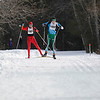 Record-Eagle/Jan-Michael Stump<br /> Ross Wiliams (1002), of Traverse City, and Jim Harrington (1001), of Petoskey, finished first and second, respectively, in the 20k freestyle race.