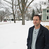 Record-Eagle/Brian McGillivary<br /> Mike Dow will wait until after Safe Harbor officials meet with members of the Boardman Neighborhood Association to decide if he will support a proposed shelter for the street homeless just a few blocks from his home.
