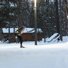 Record-Eagle/Jan-Michael Stump<br /> Hayley Padden (cq) sprints through Timber Ridge Resort during a Tuesday practice in preparation for Saturday's North American VASA races.