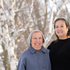 Record-Eagle/Jan-Michael Stump<br /> Cindy Greensky (cq) and her mother, Connie Steele (cq) are regular volunteers at the annual North American VASA cross country ski races.