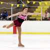 Record-Eagle/Jan-Michael Stump<br /> Megan Parker (cq) of Area 15 performs her figure skating routine at the Special Olympics Michigan Winter Games Thursday at Howe Arena.