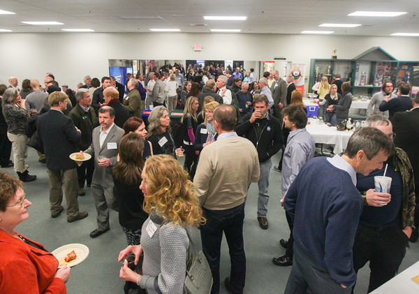 Record-Eagle/Keith King<br /> The Traverse City Area Chamber of Commerce Business After Hours event takes place Wednesday at Centre ICE.
