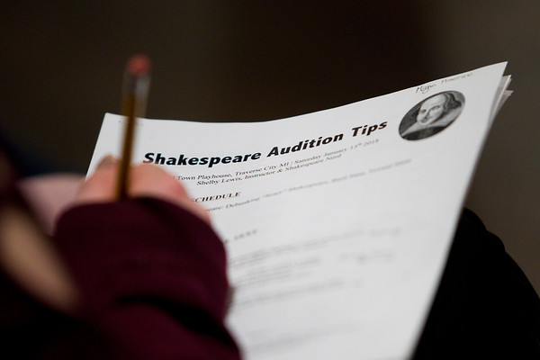 SHAKESPEARE AUDITION TIPS