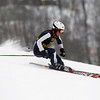 Record-Eagle/Jan-Michael Stump<br /> Traverse City Central's Clark Phelps keeps his focus during a giant slalom run at Crystal Mountain.