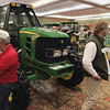 Record-Eagle/Keith King<br /> Many patrons of the annual Northwest Michigan Orchard & Vineyard Show came to see the farm equipment, while others participated in programs targeting the local grape and wine industry.