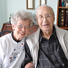 Record-Eagle/Vanessa McCray<br /> Adeline and Burton Griner, of Traverse City, celebrate their 75th wedding anniversary this month.