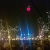 Record-Eagle/Jan-Michael Stump<br /> The second annual Cherry T-Ball Drop, held downtown on New Year's Eve, attracted three times as many people<br /> as last year's event.