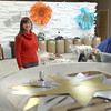 Record-Eagle/Jan-Michael Stump<br /> Scrap TC volunteer Kristin Anton stands inside the 501(c)(3) non-profit, who's mission is to provide educational programs and affordable materials to the community for creative purposes and sustainable behavior.