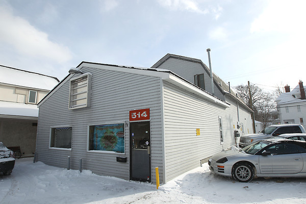 Record-Eagle/Keith King<br /> The structure at 514 East Front Street Wednesday, January 23, 2013 in Traverse City.