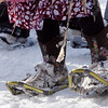 Record-Eagle file photo<br /> Snowshoes at last year's Women's Winter Tour at Crystal Mountain.
