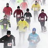 Record-Eagle/Keith King<br /> Blustery weather greeted racers at the start of Saturday's Bigfoot Snowshoe Race at Timber Ridge Resort. Some 413 participants finished the 5K and 10K races, the Midwest qualifier for the national championships. Asa Kelly won the men's 5K (28:28), Julie Comfort the women's 5K (31:48.7), Kevin Tarras the men's 10K (50:22.5) and Erin O'Mara the women's 10K (1:00:14.2).