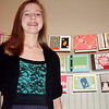 Record-Eagle/Marta Hepler Drahos<br /> Amber Bailey offers handmade greeting cards through her business, TC Expressions.