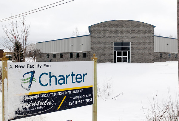 Record-Eagle/Jan-Michael Stump<br /> The new Charter Communications offices in the Hammond Commerce Center Industrial Park.