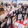 Record-Eagle/Keith King<br /> Attendees gather Saturday during the 2014 Grand Traverse Area Preschool and Child Resource Fair at Trinity Lutheran School in Traverse City.