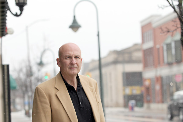 Record-Eagle/Jan-Michael Stump<br /> Downtown business owner Jim Nash would like to reign in Men's Night in downtown Traverse City, which he says needs to calm down.