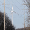 Record-Eagle/Jan-Michael Stump<br /> The Traverse City Light and Power windmill along M-72 is currently below capacity.