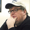 Michael Moore reflects during a wide-ranging interview at the Record-Eagle.