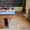 Record-Eagle/Keith King<br /> A science room on the unsued third floor of Central Grade School in Traverse City. Doors to the floor have been locked for years.